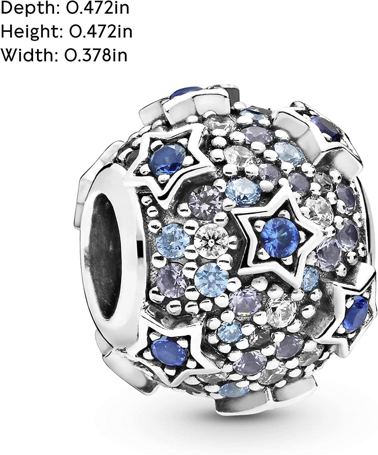 CZ Star Charms Micro Pave Charms Star Pendant 8x10mm 24k Shiny Gold Star Charms ZRCN467 Micro Pave Star Cubic Zirconia Charms FLT