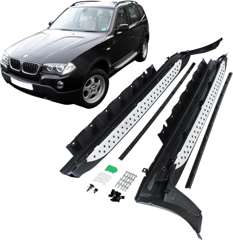 Alu Trittbretter für BMW X3 F25 E83 Schweller Seitenschweller Seitenbretter