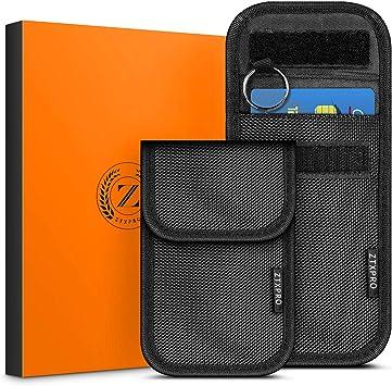 Faraday Key Fob Protector Box Faraday Pouch for Keyless Cars Fob Cards Phone Faraday Bag Key Fob RFID Signal Blocker Anti-Theft