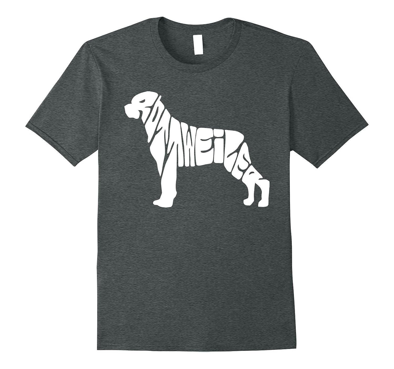 Beautiful ROTTWEILER designer t-shirt (puppies rescue tee)-Art