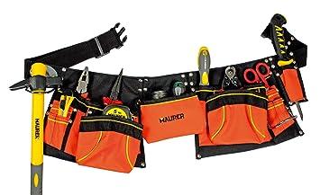 Maurer 2270145/shuttering Tasche doppelte mit G/ürtel Nylon