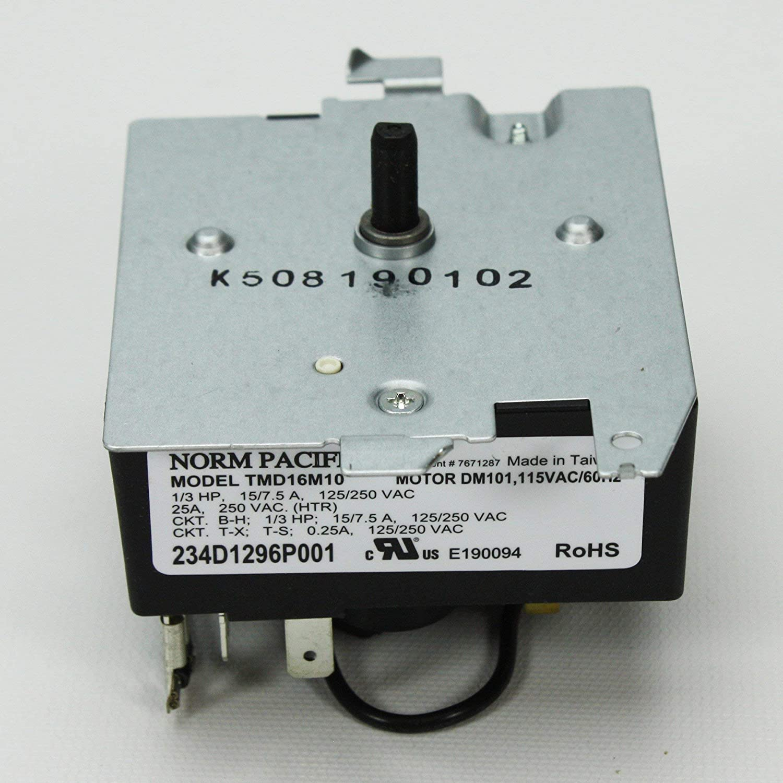 Ge Timer We4m527 Home Improvement Vintage Dryer Wiring Diagram