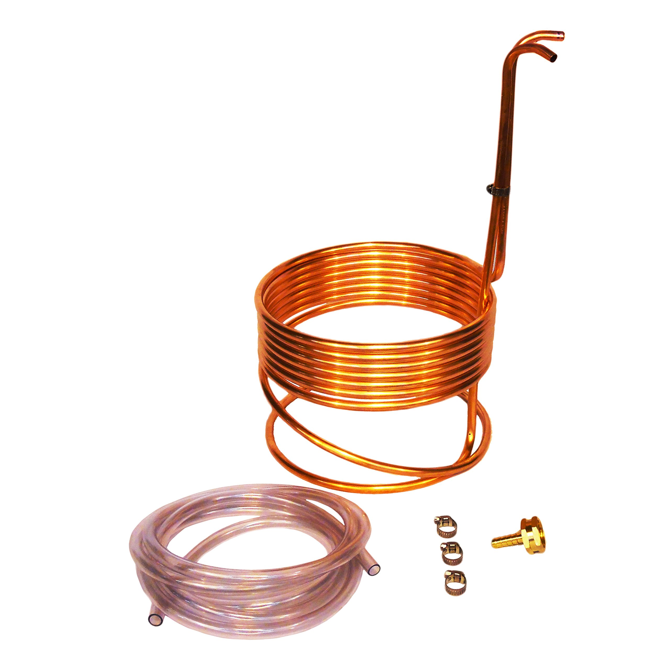Super Efficient 8'' Compact Immersion Wort Chiller by NY Brew Supply