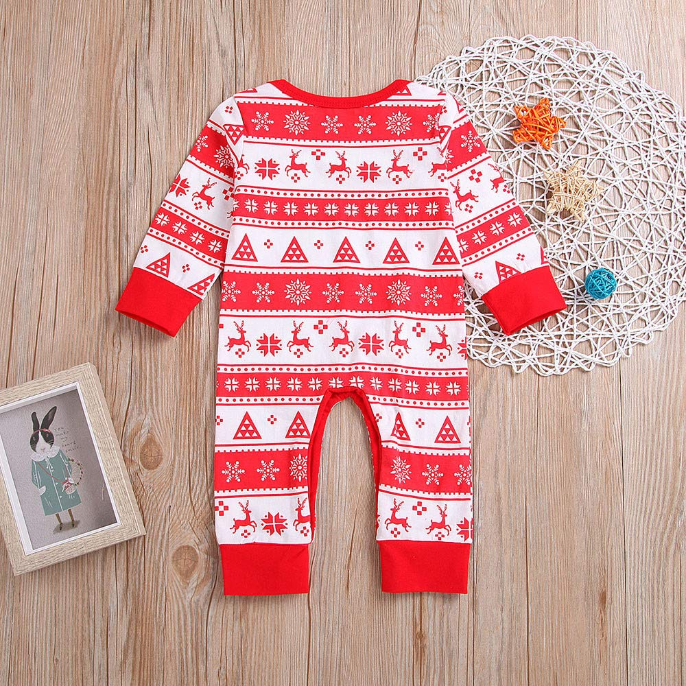 Baby Deer RomperJumpsuit Newborn Outfits Long Sleeve Christmas Playsuit One Piece Onsies Infant Clothes Toraway