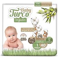Baby Turco Doğadan Bebek Bezi, 1 Beden, 40 Adet