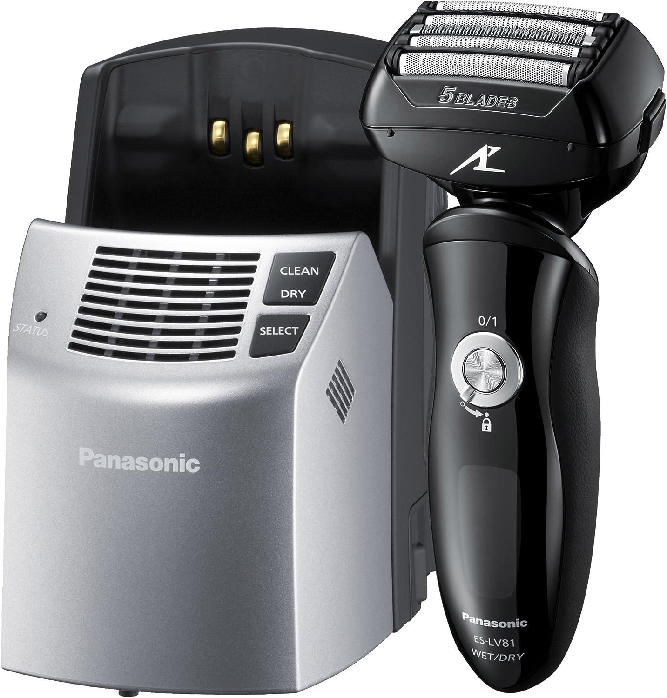 Panasonic ES-LV81-K803 - Afeitadora de 5 hojas (con estación de ...