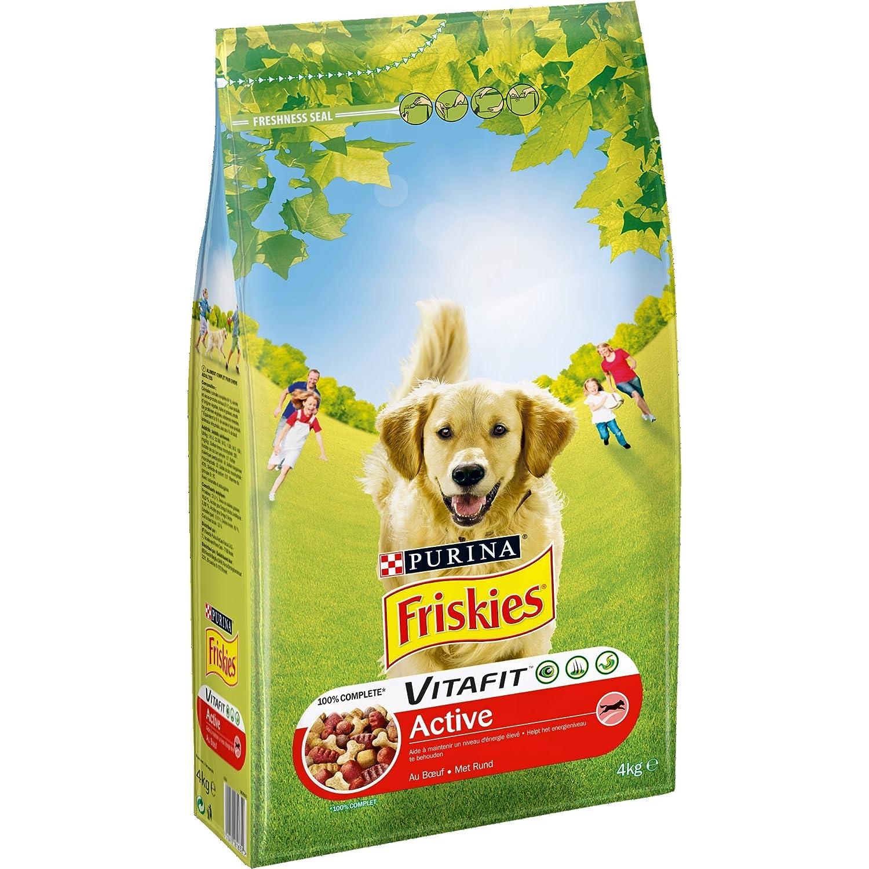 Friskies Vitafit Maxi : au Bœuf - 18 KG - Croquettes pour Chien Adulte de Plus de 25 kg Friskies Chien 12188507