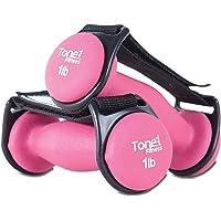(0.5kg, Pink) - Tone Fitness 0.9kg Walking Dumbbells, Set of 2