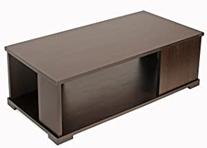 Bluewud Noel CT-No-RTW Coffee Table with Shelves