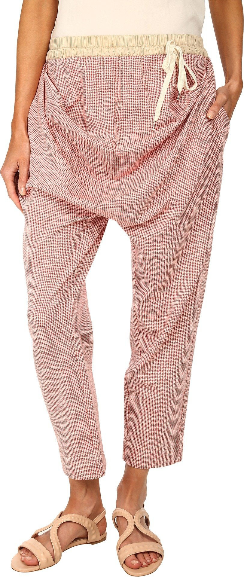 Vivienne Westwood Women's Drape Trousers Red Check MD X 25