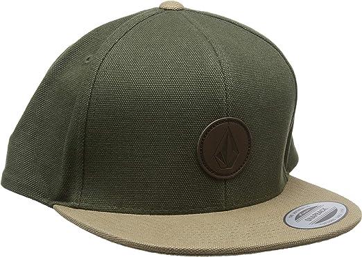 Volcom Mens Quarter Fabric Hat Gorra, Hombre, Army, O/S: Amazon ...