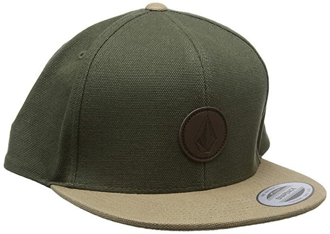 cheap for discount 3145b 82197 ... canada volcom mens quarter fabric hat army one size fits all edc10 6b2ba