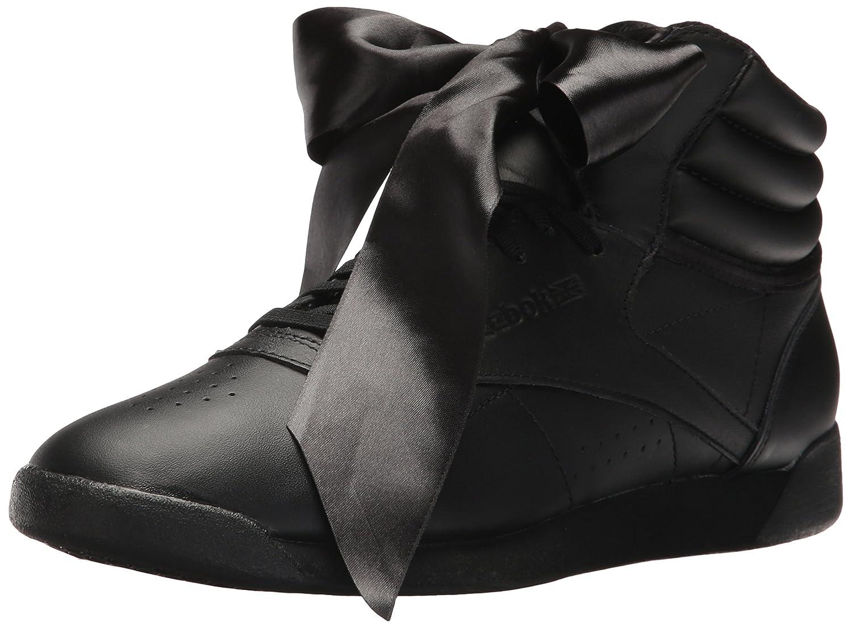 Reebok Womens F//S HI Satin Bow Sneaker