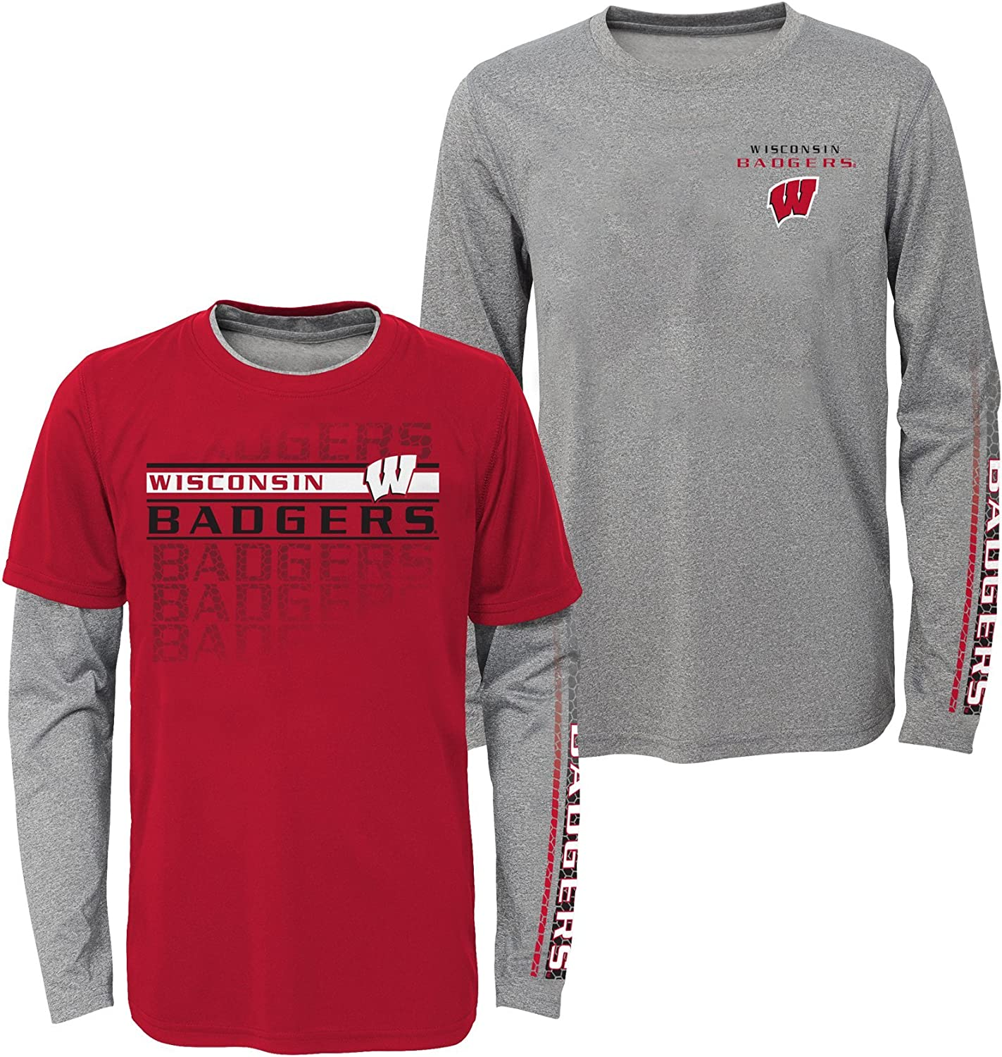 Outerstuff NCAA Boys Interface Performance T-Shirt Combo Pack