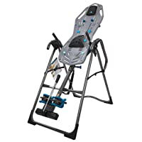 Teeter FitSpine X3 Inversion Table, Deluxe Easy-to-Reach Ankle Lock, Back Pain Relief...