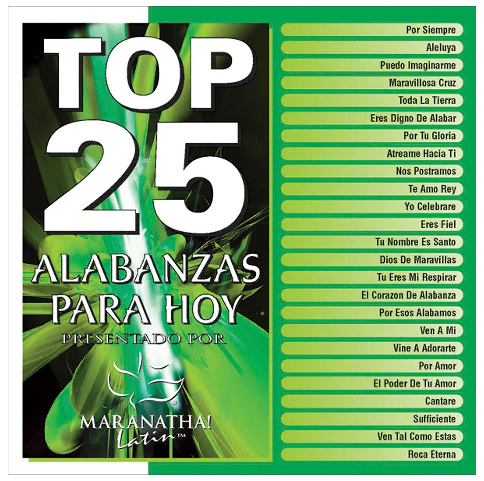 Top 25 Alabanzas Para Hoy [2 CD]