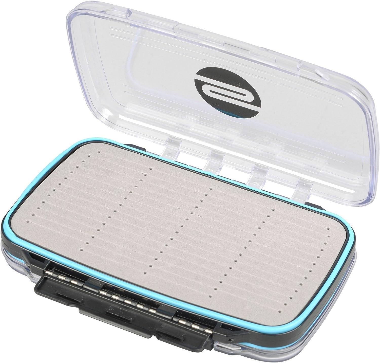 Angelbox Kunstk/öderbox f/ür Spinnk/öder /& Gummifische Spro Freestyle Rigged Box 19x12x4cm Tacklebox f/ür Jighaken /& Stinger