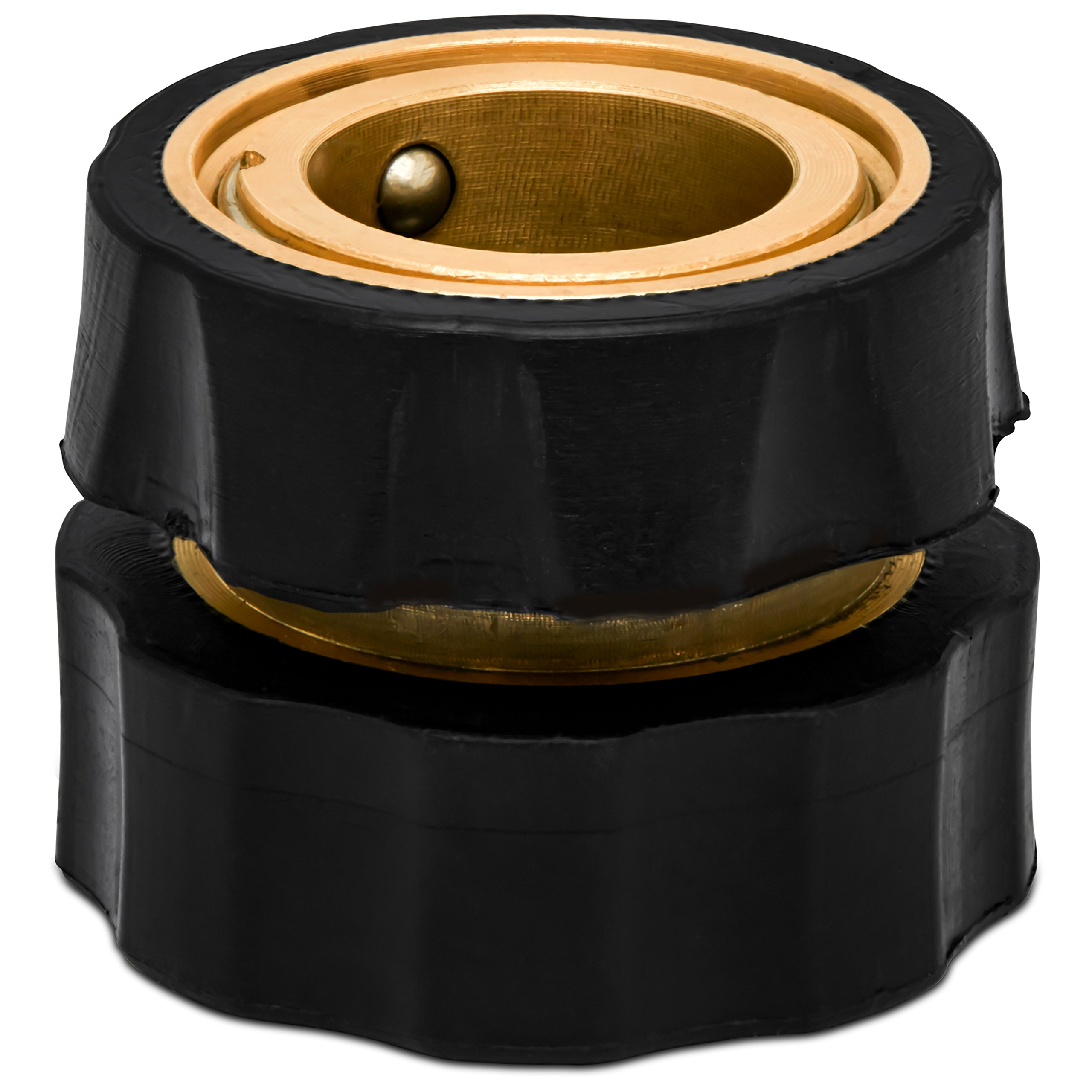 Morvat Brass Quick Hose Connector | Easily Add Attachments to Garden Hose | Great for Gardening, Washing, Sprayers, Nozzles, Sprinkler or Watering Tools | Pack of 6 by Morvat (Image #9)