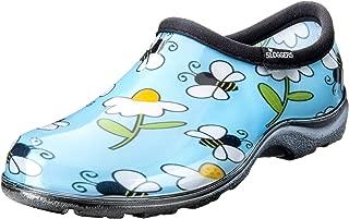 product image for Sloggers 5120BEEBL07 Waterproof Comfort Shoe, 7, Lt Blue Bee Print