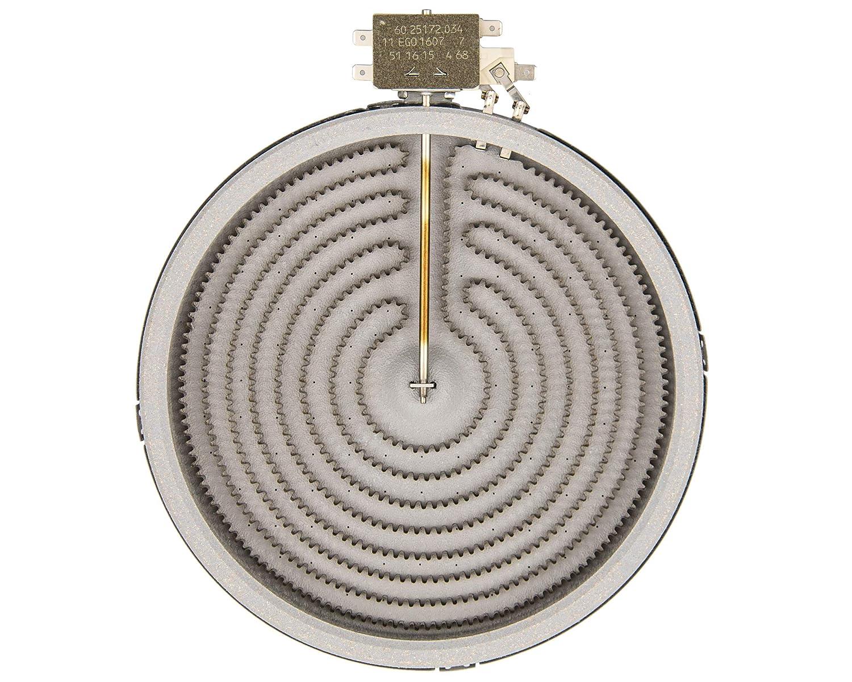 Remle - Resistencia Placa vitrocerámica Teka EGO 1051111004 2300W 230V 210mm