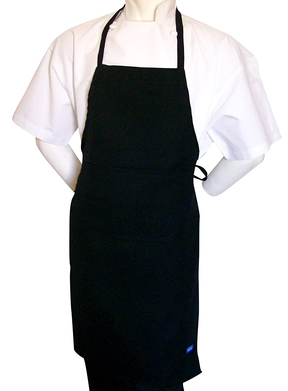 Black apron - Amazon Com Chefskin Black Apron For Kids Small 15x21 Real Fabric Ultralight Comfortable Home Kitchen