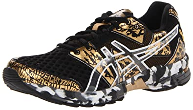 quality design b0dd5 77507 ASICS Women s Gel Noosa TRI 8 GR Running Shoe,Black Gold Metallic White