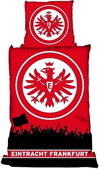 Eintracht Frankfurt Bettwäsche Linon Fans Amazonde Sport Freizeit