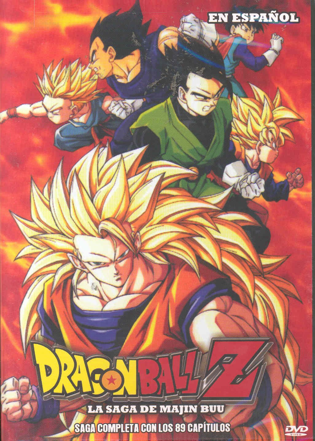 Dragon Ball Z La Saga De Majin Buu En Espanol Ntsc Region 1 Latin American Import Movies Tv