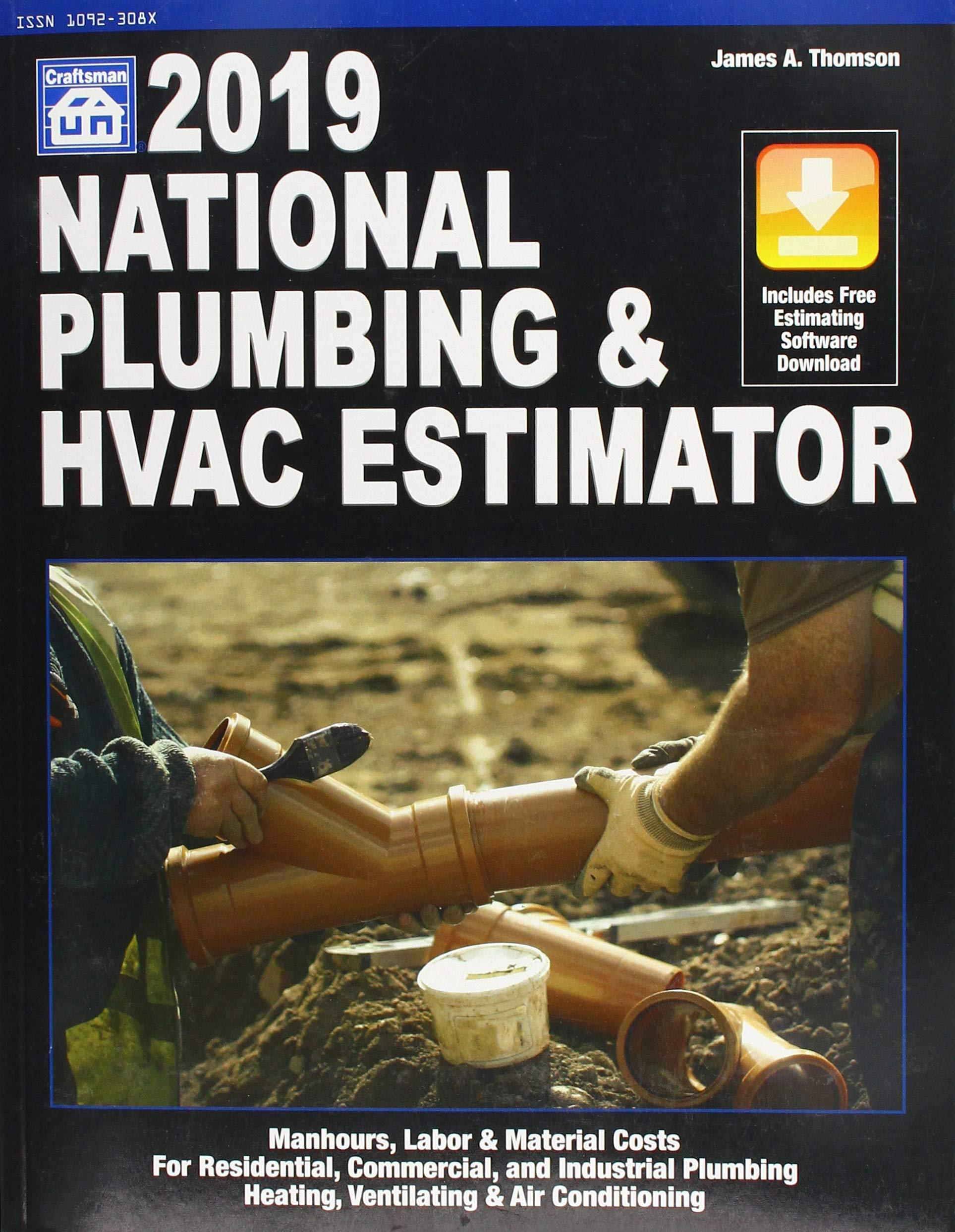 National Plumbing & HVAC Estimator 2019 (National Plumbing