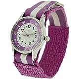 Reflex Time Teacher Lilac & White Easy Fasten Girls Childrens Watch REFK0004