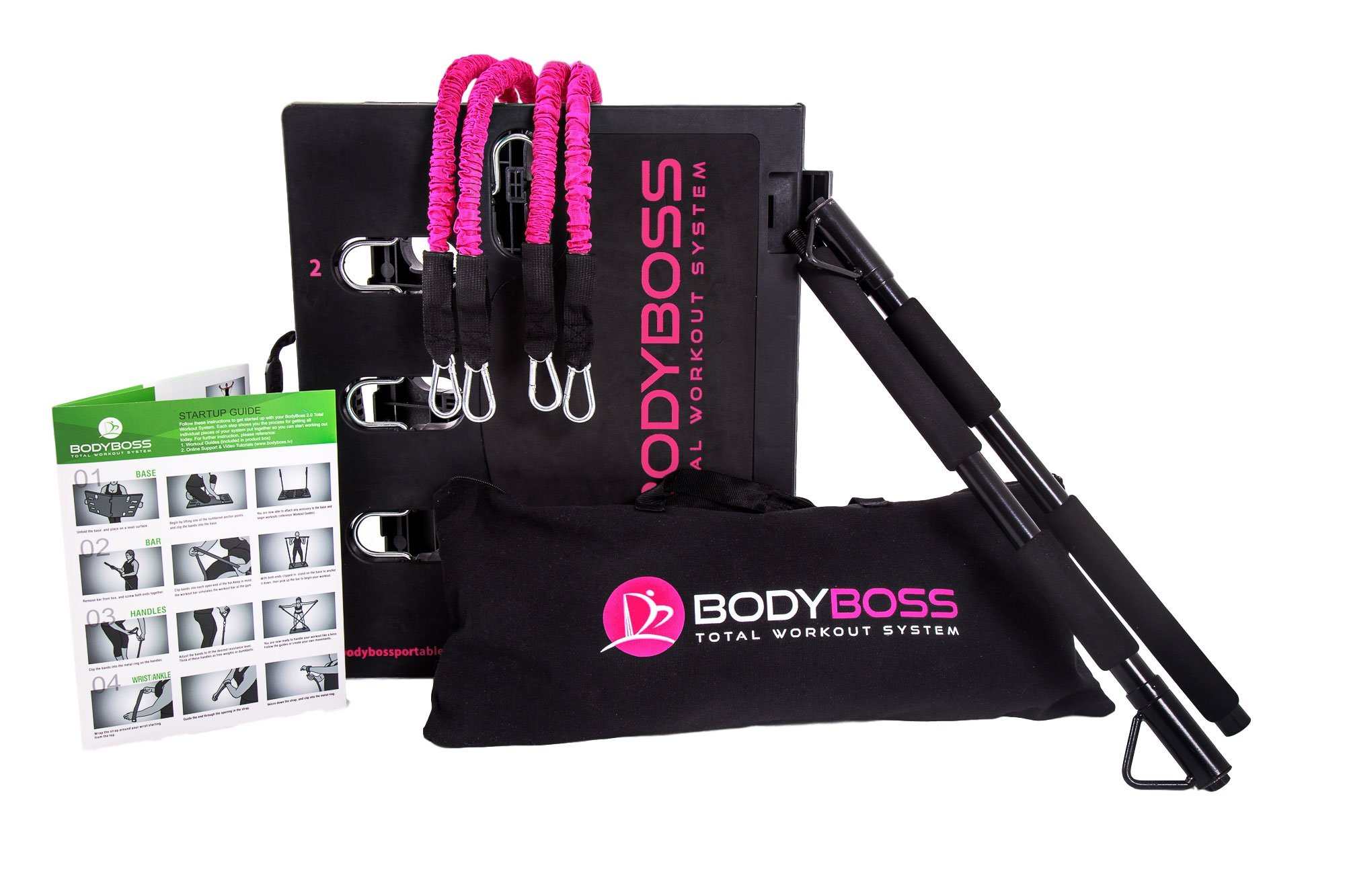 BodyBoss Home Gym 2.0 - Full Portable Gym - Full Body Workouts for Home, Travel or Anywhere You Take It. by BodyBoss (Image #2)