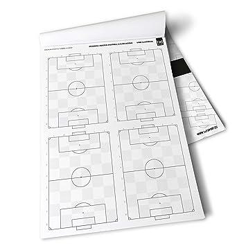 1x1SPORT - Plantillas de juego para entrenadores de fútbol, con planos del campo de juego [podría no estar en español]