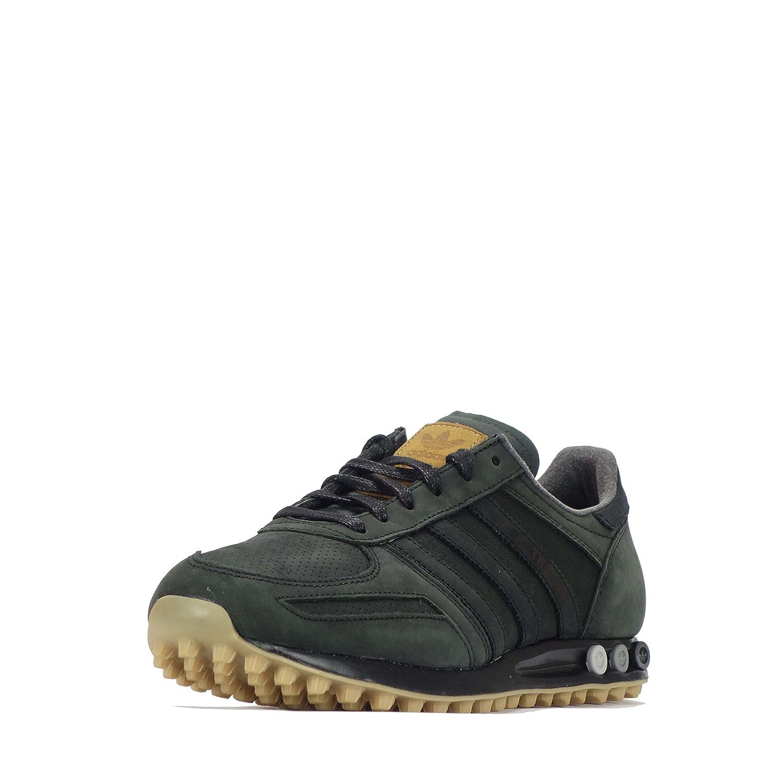 adidas la trainer herren schuhe core black-mesa gum