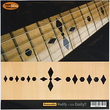 Dove Fretboard Markers Inlay Sticker Decals for Guitar Bass WS