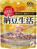 ISDG 医食同源ドットコム 納豆生活 サプリメント [ ナットウキナーゼ 4000fu/2粒 配合 ] 無臭タイプ 210mg×60粒