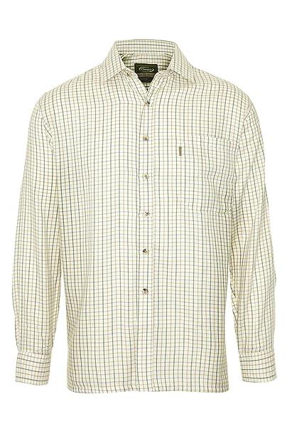 Champion Country Clothing - Camisa casual - para hombre verde verde Medium: Amazon.es: Ropa y accesorios