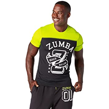 Zumba Fitness Z2T00298 T-Shirt Homme 7ab55a242d0