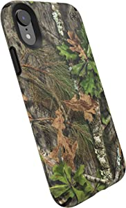 Speck Products Presidio Inked iPhone XR Case, Mossy Oak Obsession/Black