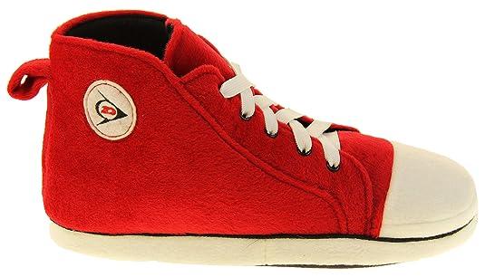 Hombre Dunlop Zapatillas de Deporte de Novedad de Lana cálida y Deportiva: Amazon.es: Zapatos y complementos