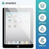 SmarTect® Apple iPad 2 / 3 / 4 Protector Cristal Templado | Premium Protector de Pantalla | Gorilla glass con grado de dureza 9H | Lámina blindada - cristal protector de calidad contra rasguños