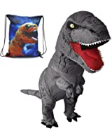 HEYMA T-Rex Costumes Inflatable Dinosaur Suit Halloween Adult Inflatable Costumes