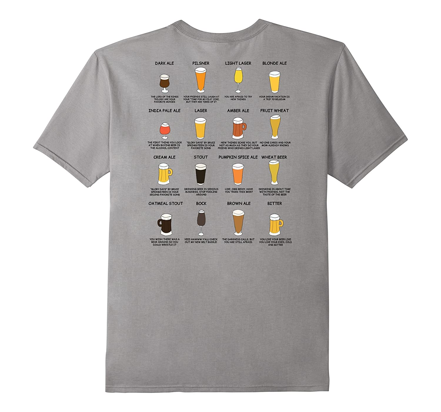 What Your Beer Says About You - Beer Styles T-Shirt-TH
