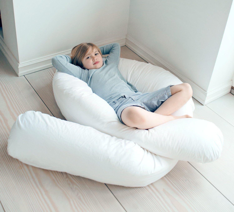 pour femmes enceintes taie d/'oreiller non-incluse Gros oreiller de 3,7/m en forme de U pour maintien de tout le corps