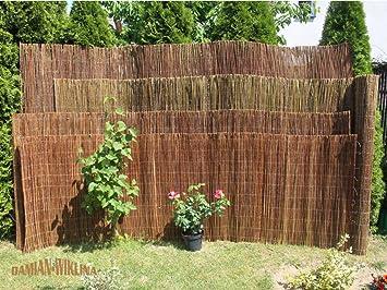 Damian Wiklina Willow Garden Screening Mat For Garden Or Balcony U2013 Length 3  Metres