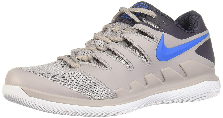 Multicolour (Atmosphere Grey Photo bluee White 001) Nike Men's Air Zoom Vapor X Hc Low-Top Sneakers