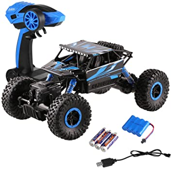 Rc-lastwagen Rc Auto 4wd High Speed Wireless Wiederaufladbare Auto Klettern Elektrische Lkw Fernbedienung Off-road Fahrzeug Spielzeug Für Jungen Kind Geschenk