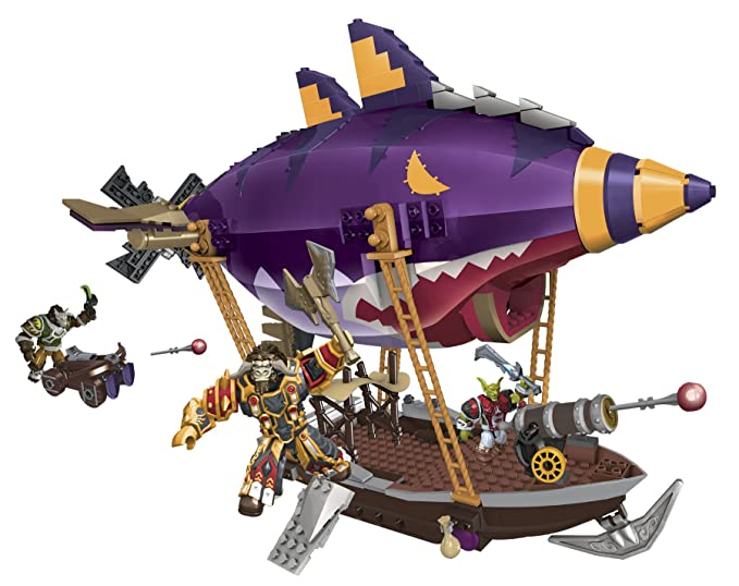 Mega Bloks 91014 World of Warcraft Zeppelin Goblin