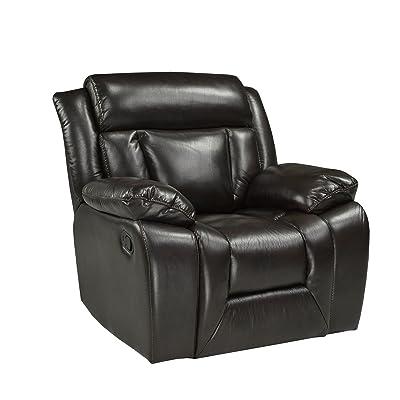 Amazon Com Madison Home Classic Plush Bonded Leather
