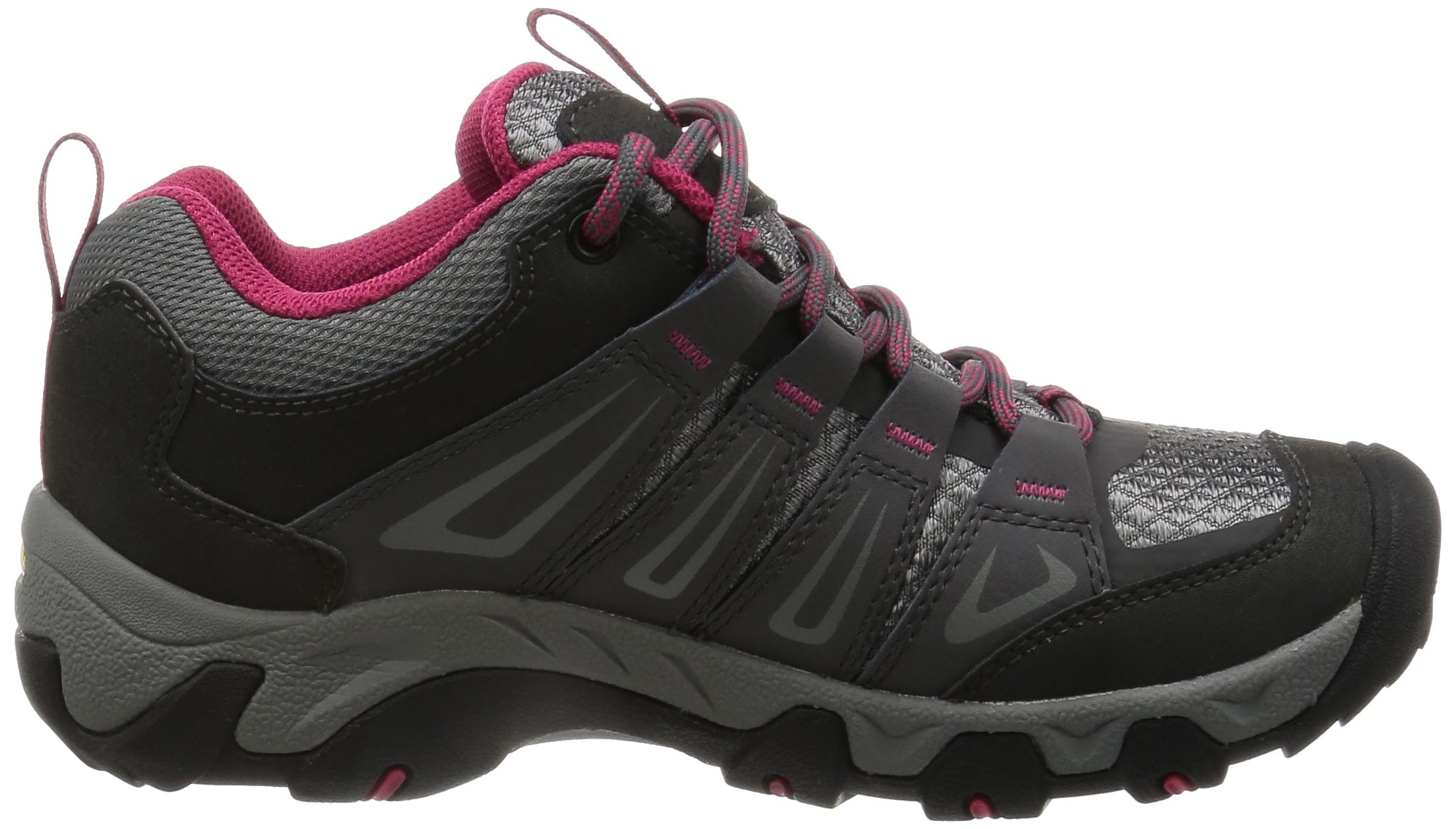 KEEN Women's Oakridge Waterproof Shoe, Magnet/Rose, 9 M US by KEEN (Image #7)