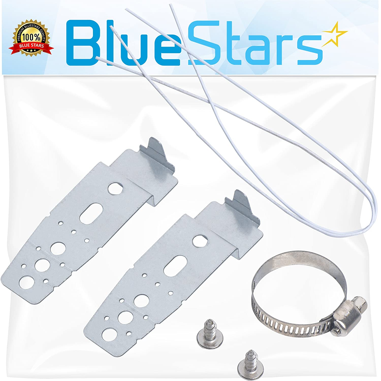 Ultra Durable 5001DD4001A Dishwasher Mounting Brackets Replacement Part by Blue Stars - Exact fit for LG Dishwasher - Replaces PS3525525